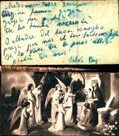 16080A)    Angeli Con Madonna Col Bambino - Vierge Marie & Madones