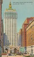CPSM - USA - Park Avenue Showing New York Central Building, New Yok City - Autres Monuments, édifices