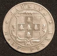 RARE - JAMAIQUE - JAMAICA - ½ ( HALF ) PENNY 1906 - Edward VII - KM 22 - Jamaica