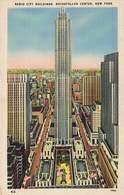 CPSM - USA - Radio City Buildings Rockfeller Center, New Yok City - Autres Monuments, édifices