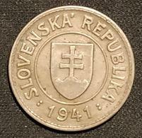 SLOVAQUIE - SLOVAKIA - 1 KORUNA 1941 - KM 6 - ( SLOVENSKA ) - Slovakia