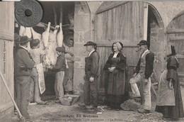29 - Carte Postale Ancienne En Bretagne  Préparatifs Pour Un Mariage De 1500 Personnes - Pont L'Abbe