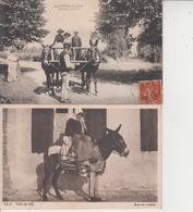 LOT DE 100 CPA TYPE PETITE CARTE  DROUILLE - Pas De Paris, Lourdes, Versailles, Mont St Michel ...  Qqes Ex En Scan  - - Cartes Postales