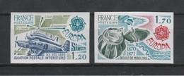 France N°2046/2047 ** Luxe Non Dentelé - France
