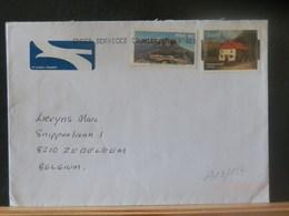 A13/154  LETTRE POUR LA BELGIQUE VENTE RAPIDE A 1 EURO - Afrique Du Sud (1961-...)