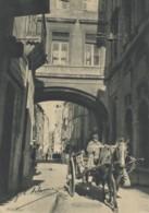 CPA - Marseille - Rue De La Loge Avec Le Pont Reliant L'ancienne Et La Nouvelle Mairie - Vieux Port, Saint Victor, Le Panier