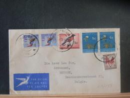 A13/154  LETTRE POUR LA BELGIQUE 1963 - Afrique Du Sud (1961-...)