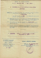 Liste N° 3 Des Candidats Au Brevet De Préparation Militaire Supérieure Au Titre De L'Infanterie - Journal Officiel 1936 - Diploma & School Reports