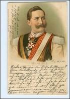 U8974/ Kaiser Wilhelm Litho AK 1905 - Königshäuser