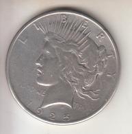 STATI UNITI - 1925 - 1$ - PEACE ARGENTO - Émissions Fédérales