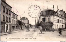 78 MAISONS LAFFITTE - La Rue De Poissy. - Maisons-Laffitte