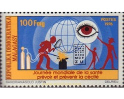 Ref. 594764 * MNH * - MADAGASCAR. 1976. WORLD DAY OF HEALTH . DIA MUNDIAL DE LA SALUD - Madagascar (1960-...)