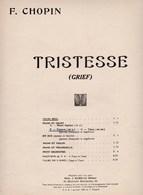 F.Chopin,Tristesse (Grief), Paroles F.Litvinne Soprano Et Nocturne (Chère Nuit) Paroles E.Hamelle OP.9n°2 Chant Piano BE - Scores & Partitions