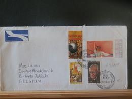 A13/167  LETTRE AFRIQUE DU SUD POUR LA BELG. - Afrique Du Sud (1961-...)