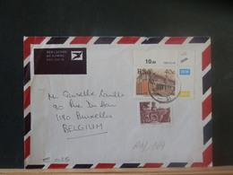 A13/169  LETTRE AFRIQUE DU SUD POUR LA BELG. - Afrique Du Sud (1961-...)