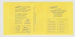 FRANCE - CARNET N° 1214 C 3 - NEUF** NON PLIE - Marianne De Ciappa-Kawena - - Carnets