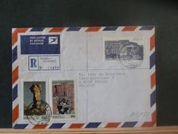 A13/173  LETTRE AFRIQUE DU SUD POUR LA BELG REGISTRED - África Del Sur (1961-...)