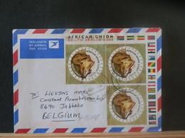 A13/176  LETTRE AFRIQUE DU SUD POUR LA BELG 2002 - Afrique Du Sud (1961-...)