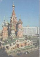 MOSCOU LA CATHEDRALE DE BASILE-LE-BIENHEUREUX - Russie
