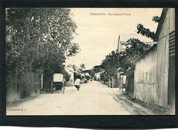 CPA - TAMATAVE - Rue Amiral Pierre, Animé - Madagascar