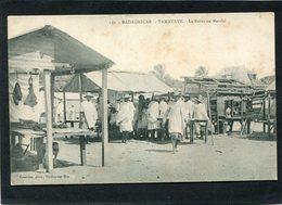 CPA - TAMATAVE - Le Bazar Ou Marché, Très Animé  (dos Non Divisé) - Madagascar