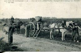 "N°9435 -cpa ""Clos Du Gard"" -Vouvray- Transport Des Vendanges- - Viñedos"