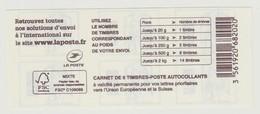 FRANCE - CARNET N° 1216 C 2 - NEUF** NON PLIE - Marianne De Ciappa-Kawena - Datamatrix - - Carnets