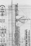 Ancien Plan Cie Maritime Belge  Bateau LEOPOLDVILLE - Khan Freres - Vieux Papiers