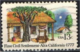 STATI UNITI - 1977 - El Pueblo De San Jos'e De Guadalupe, 1st Civil Settlement In Alta California, 200th Anniv. - USATO - Oblitérés