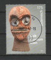 """Österreich 2017: """"Weltmuseum""""  Gestempelt (siehe Foto/Scan) - 1945-.... 2. Republik"""