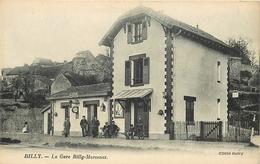 BILLY - La Gare Billy-Marcenat. - Bahnhöfe Ohne Züge