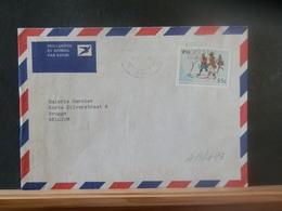 A13/193  LETTRE  AFRIQUE DU SUD TO BELG. - África Del Sur (1961-...)