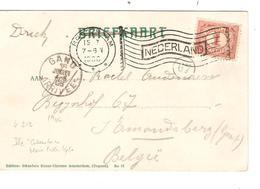 REF1316/ Nederland  CP-PC Molen Flag Cancellation Rotterdam 1906  > België - 1891-1948 (Wilhelmine)