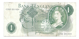 United Kingdom / Great Britain - Elizabeth II - 1 Pound - 1952-… : Elizabeth II