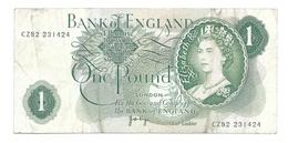 United Kingdom / Great Britain - Elizabeth II - 1 Pound - 1 Pound