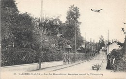 92 - GARCHES Rue Des Renaudières. Aéroplane Venant De Villacoublay - Garches