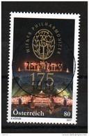 """Österreich 2017: """" 175 Jahre  Wr.Philharmoniker""""  Gestempelt (siehe Foto/Scan) - 2011-... Gebraucht"""