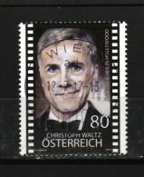 """Österreich 2017: """" Christoph Waltz""""  Gestempelt (siehe Foto/Scan) - 1945-.... 2. Republik"""