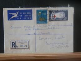 A13/197  LETTRE  AFRIQUE DU SUD  REGISTRED - África Del Sur (1961-...)