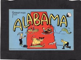 94477    Stati  Uniti,   Greetings  From  Alabama,  NV - Estados Unidos