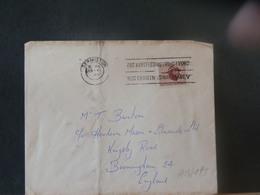 A13/198  LETTRE  AFRIQUE DU SUD - Afrique Du Sud (1961-...)