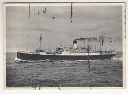 """Dampfer """"General Artigas"""" Und """"General San Martin"""", Hamburg Süd Postcard Posted 1939 B200601 - Paquebote"""