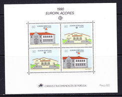 Europa Cept 1990 Azores M/s ** Mnh (47939) - 1990
