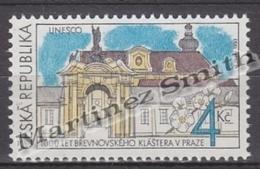 Czech Republic - Tcheque 1993 Yvert 7 Millenary Monastery Of Brevnov - MNH - Repubblica Ceca