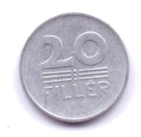 MAGYAR 1959: 20 Filler, KM 550 - Hungary