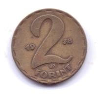 MAGYAR 1978: 2 Forint, KM 591 - Hongarije