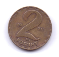 MAGYAR 1978: 2 Forint, KM 591 - Hungary