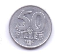 MAGYAR 1984: 50 Filler, KM 574 - Hongarije