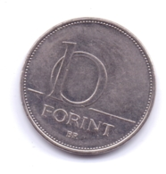 MAGYAR 2008: 10 Forint, KM 695 - Hungary