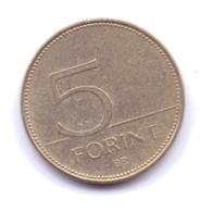 MAGYAR 2010: 5 Forint, KM 694 - Hongarije